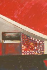 Igrejinha Brasília 100x140 cm Oil on Linnen 2006