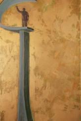 JK de Ouro 100x180 cm Óleo sobre linho 2008